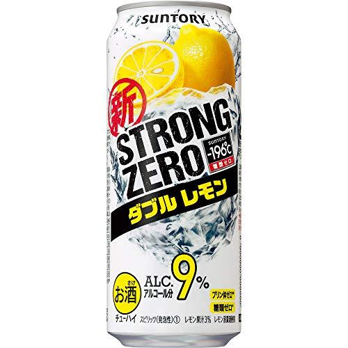 サントリー-196℃ ストロングゼロ ダブルレモン [ チューハイ 500ml×24本 ]