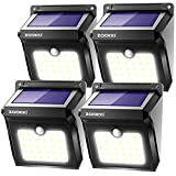 ZOOKKI Solar Lights Outdoor, 28 LED Wireless Motion Sensor Lights, IP65...