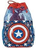 Marvel Enfants Captain America Sac de Natation