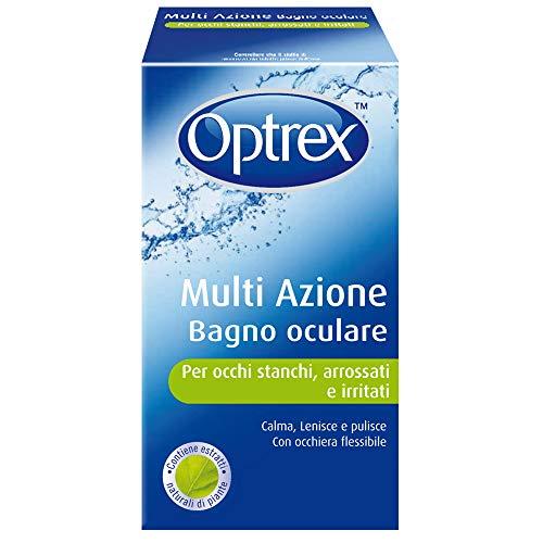 Optrex Bagno Oculare Multi Azione per Occhi Stanchi, Arrossati e Irritati, 300 ml