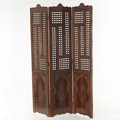 Casa Moro Orientalischer Holz Paravent Menara
