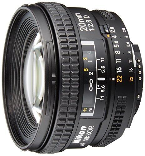 Nikon 単焦点レンズ Ai AF Nikkor 20mm f 2.8D フルサイズ対応