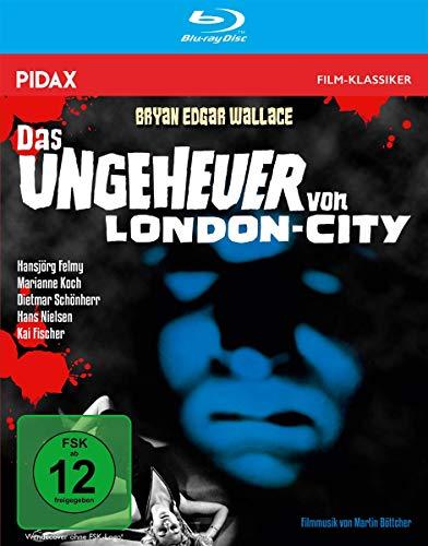 Bryan Edgar Wallace: Das Ungeheuer von London-City / Spannender Gruselkrimi mit Starbesetzung + Bonusmaterial (Pidax Film-Klassiker) [Blu-ray]