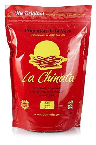 Pimentón de La Vera Ahumado La Chinata Dulce bolsa 1 kg.