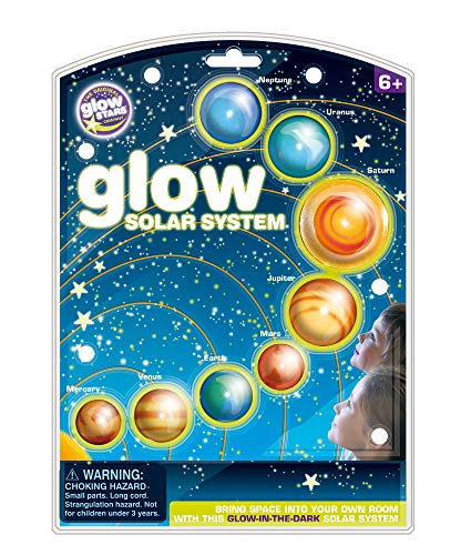 The Original Glowstars Company Brainstorm Glow Solar System