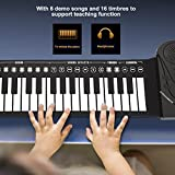 Zoom IMG-2 bnineteenteam pianoforte portatile arrotolabile a