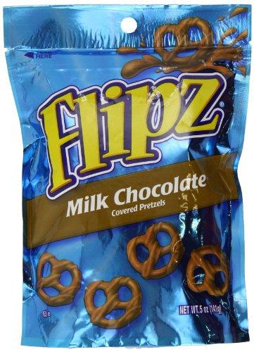 Pretzel Flipz Milk Chocolate 141 g (Pack of 2