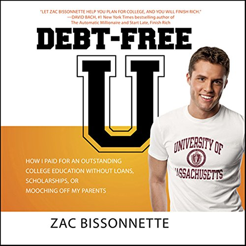 Debt-Free U audiobook cover art