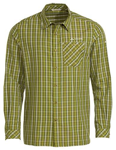 VAUDE Herren Hemd-Bluse Men's Albsteig LS Shirt II, wild Lime, L, 41809