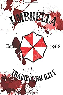 Umbrella: Training Facility Vintage Resident Evil Notebook, Journal for Writing, Size 6