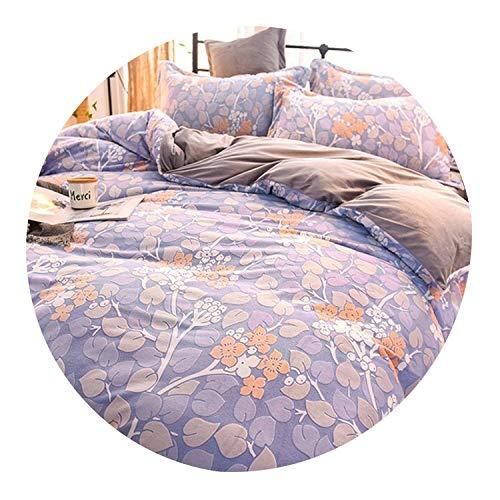 6D Modern Style Home Use 3 4 Pcs Bedding Set Duvet Cover Bed Sheet Pillowcases Sculptured Velvet Pink Flower Full Queen King,12,King 220X240cm