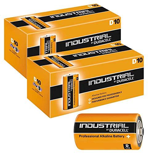 Duracell Industrial Professional Alkaline Dbatterijen, 1,5V/LR20