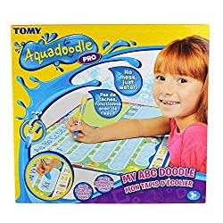 [OFFICIAL AQUADOODLE MAT] Aqua doodle is the #1 selling water doodle mat on UK. In 2019, My ABC Aqua doodle received the Silver medal in the Best portable/Travel toy category in the Made for Mums Awards. Produced with the highest quality materials, l...