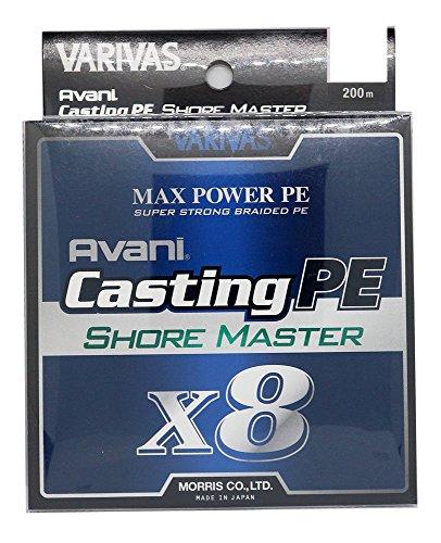 VARIVAS(バリバス) PEライン アバニ キャスティングPE マックスパワー X8 ショアマスター 200m 1.5号 28.6lb 8本 ホワイト