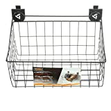Gladiator Garage Storage Wire Basket 18 in. x 12 in Ventilated Friction Lock Tab