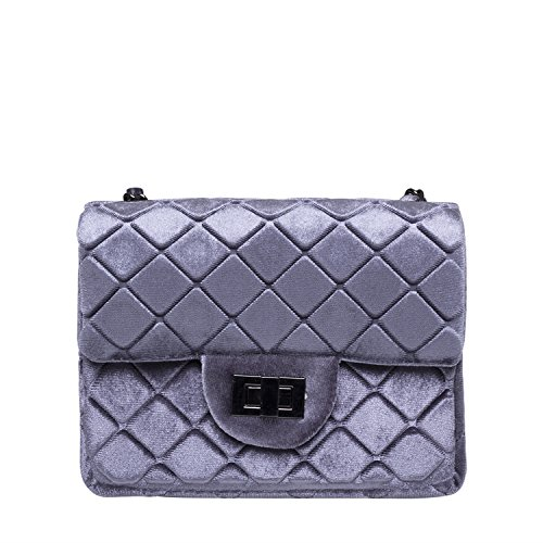Noella Fashion Alba Crossover Bag Silver