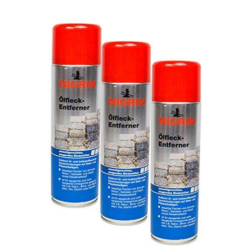 Nigrin 3X 72287 Ölfleck-Entferner 500 ml