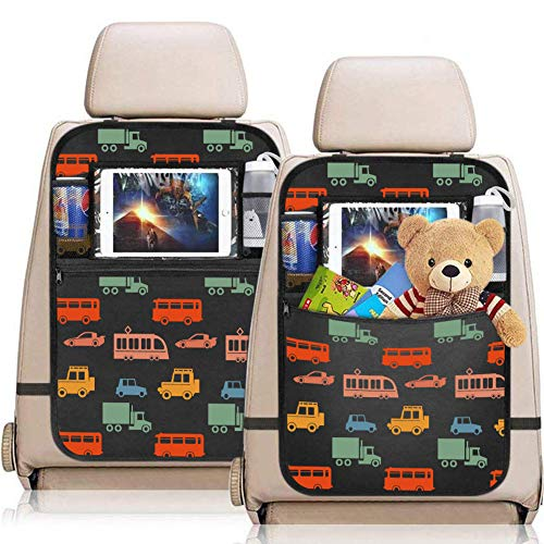 YZCX 2 Pezzi Protezione Sedili Auto Bambini Proteggi Sedile Organizzatore Sedile...