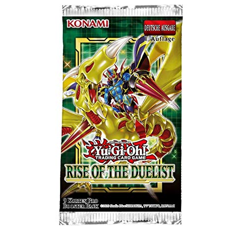 Yu-Gi-Oh! TRADING CARD GAME Booster - Rise of the Duelist - Deutsche Ausgabe