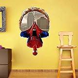 Adesivi da parete per bambini, motivo: Spiderman, 40 x 60 cm