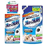 ライオン ペットの布製品専用 洗たく洗剤 400g+詰め替え用 320gセット