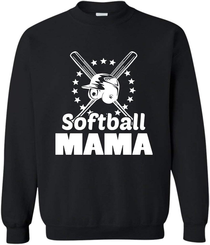 Brown Bee Max 65% OFF Softball Mama Long Sleeve Design Max 82% OFF Shirt Sweatshirt