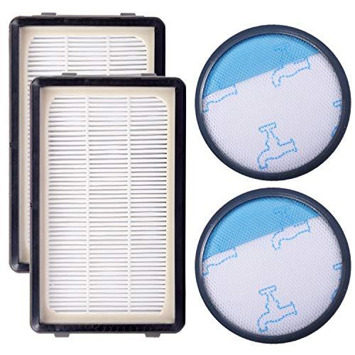 KEEPOW 2 Filtros HEPA y Espuma para Aspiradoras Rowenta ZR005901 Compact Power Cyclonic RO3753EA, O3718EA, RO3724EA, RO3731EA, RO3753EA, RO3786EA, RO3798EA Tefal/Moulinex