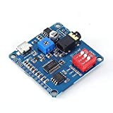 PEMENOL Voice Playback Module Music Player Voice prompts Voice Broadcast Device MP3 Trigger Amplifier Class D 5W 64MBit Flash for Arduino