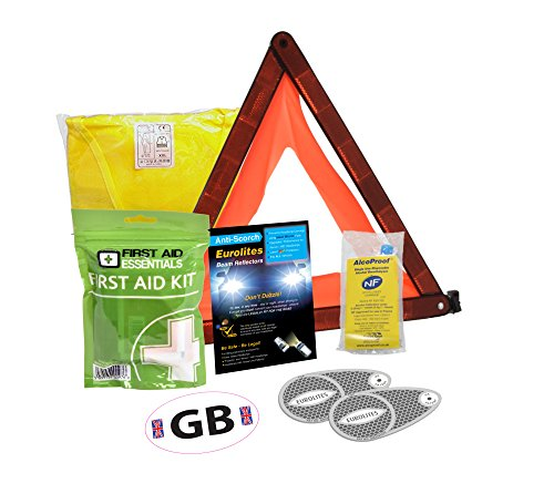 Déviateur de faisceau pour phare + Kit de voyage pour kit de conduite abroad- B