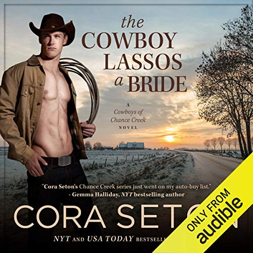 The Cowboy Lassos a Bride audiobook cover art