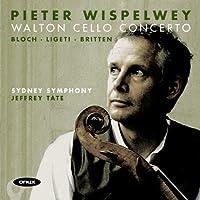 Walton: Cello Concerto / Passacaglia / Bloch: Cello Suite, No. 1 / Ligeti: Cello Sonata / Britten: Ciaccona (2009-03-10)