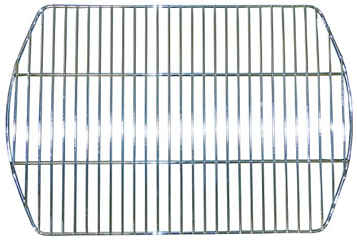 Music City Metals 48801 Grillrost aus verchromtem Stahl für Gasgrills der Marke Landmann - Silberfarben