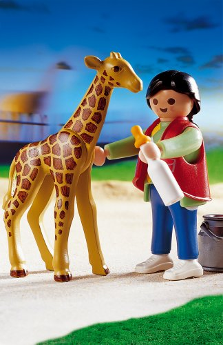 PLAYMOBIL® 3253 - Babygiraffen - Pflegerin