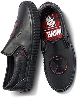(バンズ)Vans スリッポン マーベル?靴?スニーカー Slip On Marvel Black Widow Sneaker スリッポン ブラック?ウィドウ M:5, W:6.5 (メンズ23cm, レディース23.5cm) [並行輸入品]