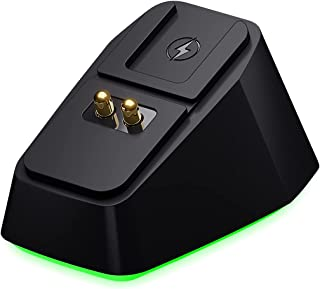 Veory Charging Dock Chroma for Razer Gaming Mouse, with Two USB Charing Ports for Razer DeathAdder V2 Pro, Naga Pro, Viper...