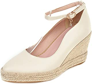 Melady Women Classic Pumps Wedge High Heels