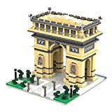 dOvOb Architecture Arc De Triomphe Micro Mini Blocks (2020 Pieces) Building Model Set Toys Gifts for Kid and Adult