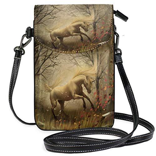 XCNGG bolso del teléfono Horse Cell Phone Purse Wallet for Women Girl Small Crossbody Purse Bags