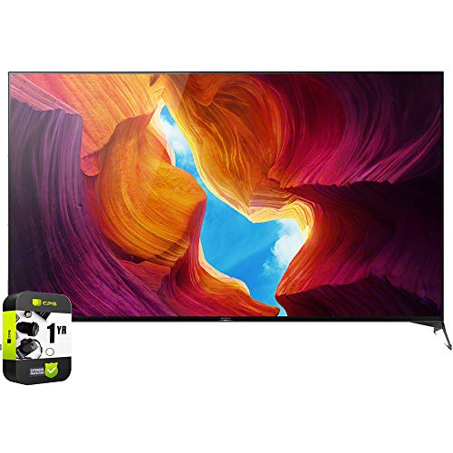 Sony XBR75X950H 75 inch X950H 4K Ultra HD Full Array LED Smart TV 2020 Model with 1 Year Extended Protection Plan