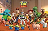 Trends International Disney Pixar Toy Story 4 - Collage Wall Poster, 22.375' x 34', Unframed Version