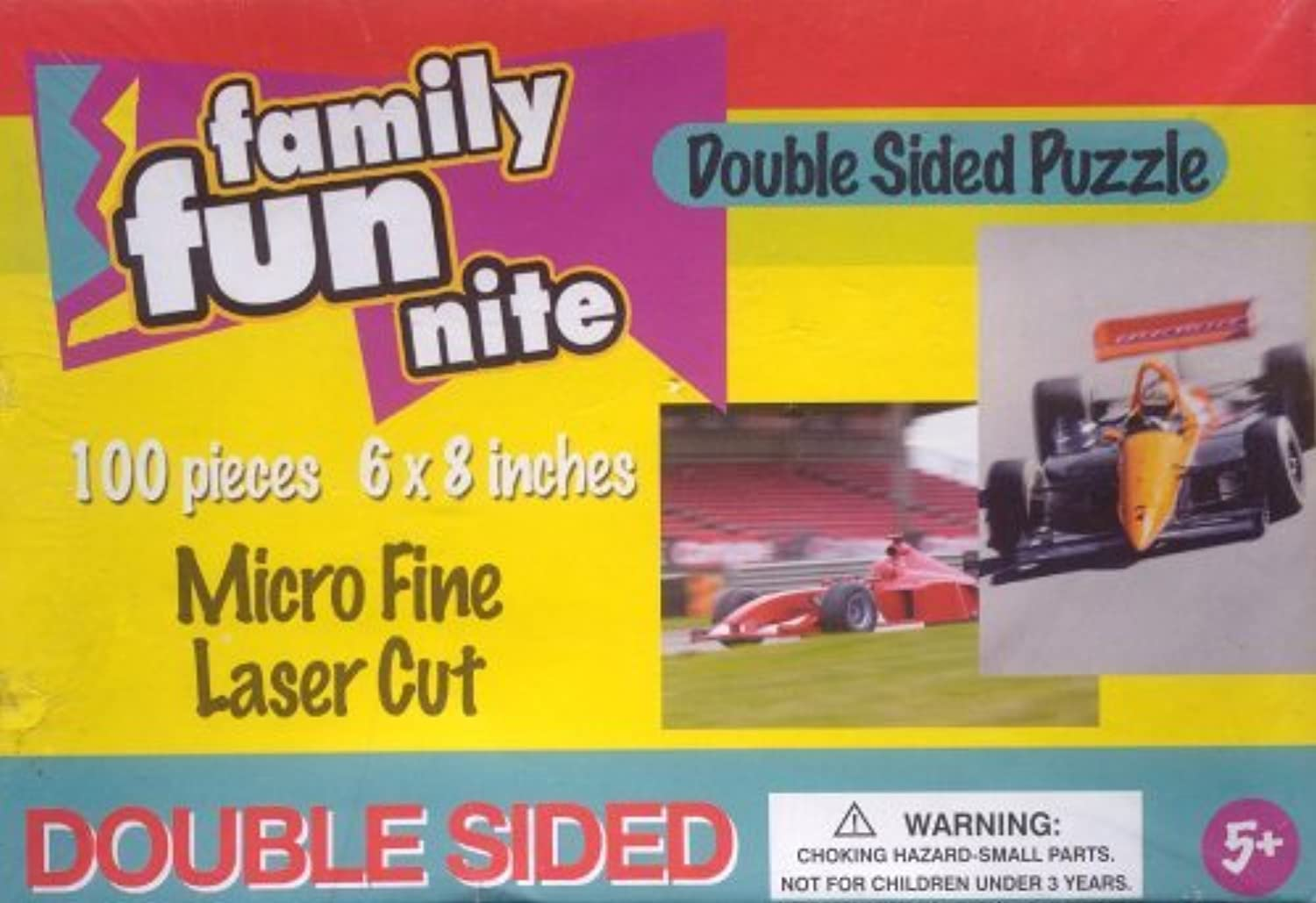 Family Fun Nite Double Sided Puzzle by Game Night