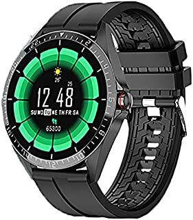 Azorex Smartwatch Reloj Inteligente para Mujer Hombre Reloj Deportivo Redondo Impermeable IP67 con Pulsómetro Cronómetros ...