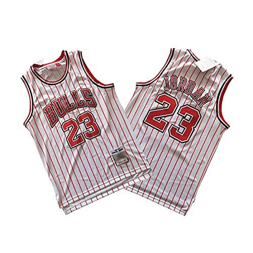 NHICR Jordan Jersey Bulls # 23, Chaleco de Baloncesto de la Raya...