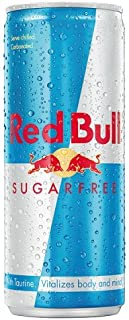 Red Bull Sugar Free Energy Drink - Pack of 24 Cans (24 x 250ml)