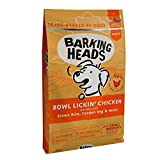 Barking Heads Dry Dog Food - Bowl Lickin' Chicken - 100% Natural Chicken with No Artificial...