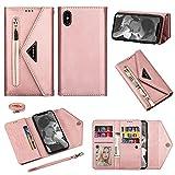 Phone Flip Case Pour iPhone XS max (6.5) Type de portefeuille de portefeuille de téléphone...