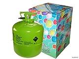 P'tit Clown 30310 Bouteille d'Hélium Jetable - 0,42 m3 - 50 Ballons - Multicolore