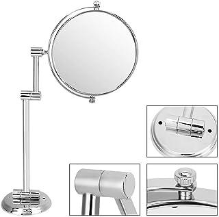 Swiveling Mirror, Bathroom Wall Mount Makeup Mirror Foldable Swiveling Dual-Side 3X Manifying Vanity Mirror(#1)