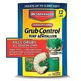 Best Grub Killers - BIOADVANCED 700715M Season-Long Grub Control Plus Turf Revitalizer Review