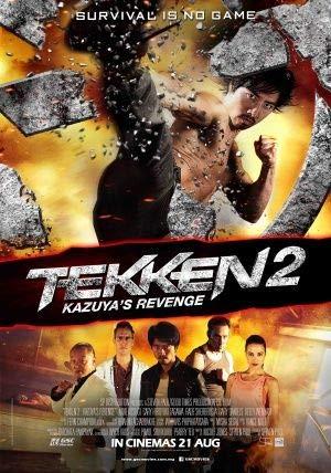 Tekken KAZUYA'S Revenge – Film Poster Plakat Drucken Bild – 30.4 x 43.2cm Größe Grösse Filmplakat A Man Called X